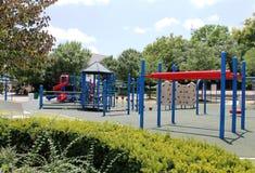 室外儿童的游乐场 库存照片