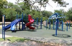 室外儿童的游乐场 库存图片