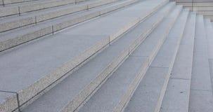 室外具体台阶的外部,扶手栏杆,水泥 股票录像