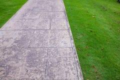 室外具体步行方式 库存图片