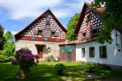 室外博物馆Doubrava -捷克 库存图片