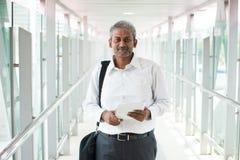 室外印地安的商人 免版税图库摄影