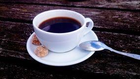 室外咖啡 免版税库存图片