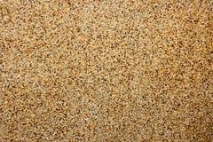 室外地板的沙子石纹理 免版税库存图片