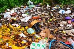 室外垃圾 免版税库存图片
