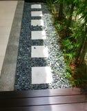 室外小卵石石头 免版税图库摄影