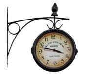室外模式的时钟 库存照片