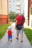 室外步行 免版税库存图片