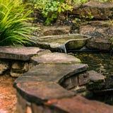室外池塘02 图库摄影