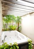 室外浴手段样式 免版税库存图片