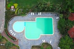 室外游泳池 库存照片
