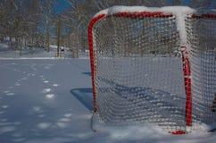 室外溜冰场滑冰 库存图片