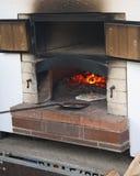 室外烤箱 免版税库存照片