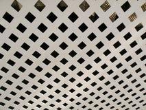 室外甲板格子 免版税库存照片