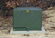 室外电源变压器 库存图片