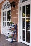室外的咖啡店 免版税库存照片