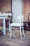 室外的咖啡馆 图库摄影