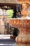室外的喷泉 免版税库存图片