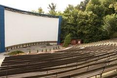 室外的戏院 库存照片
