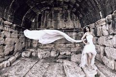 室外的新娘 库存照片