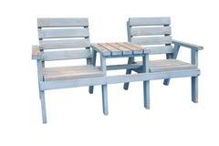室外的椅子 免版税库存照片