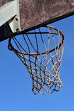 室外的篮球篮 免版税库存图片