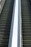 室外的自动扶梯 免版税库存图片