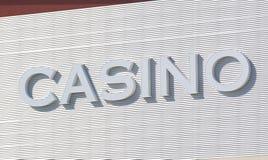室外的赌博娱乐场 免版税库存照片