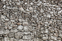 室外石墙 免版税库存照片