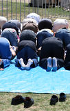 室外祷告 库存图片