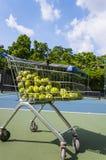 室外网球 免版税图库摄影