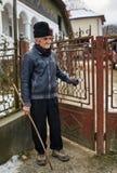 室外老的农夫 免版税库存照片