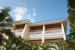 室外设计和庭院在泰国 免版税库存照片