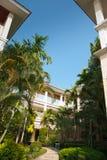 室外设计庭院在泰国 库存照片