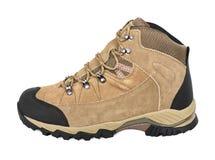 室外远足的鞋子 免版税图库摄影