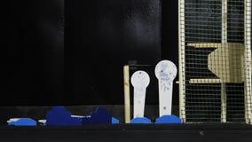 室外靶场或射击目标墙壁  影视素材