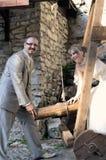 室外风景婚礼 免版税库存图片