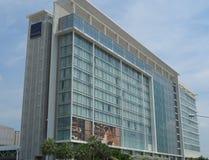 380室旅馆诺富特曼谷冲击 图库摄影