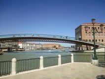 宪法桥梁,威尼斯-意大利 免版税库存图片