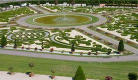 宫殿公园模式 图库摄影