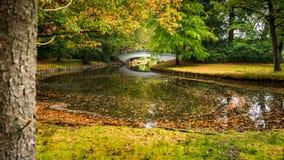 宫殿公园的细节在` t厕所附近的阿珀尔多伦 一M 免版税库存照片