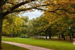 宫殿公园,奥斯陆,挪威 库存图片