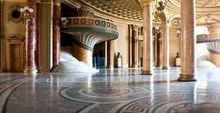 宫殿内部 免版税库存图片