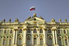 宫殿冬天 免版税库存照片