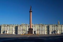 宫殿冬天 库存图片