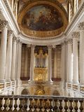 宫殿凡尔赛 免版税库存照片