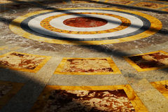 宫殿卡塞尔塔,意大利内部看法  免版税图库摄影