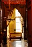 宫殿卡塞尔塔,意大利内部看法  免版税库存图片