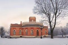 宫殿和公园合奏Tsaritsyno 免版税库存照片