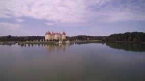 宫殿和公园在皮尔尼茨 股票视频